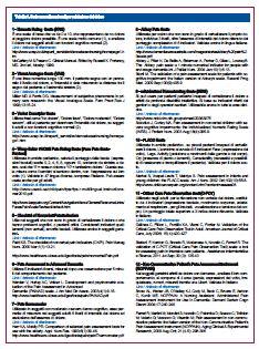 Tabella 2. Scale multidimensionali per la valutazione del dolore e qualità di vita
