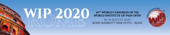 Congresso WIP Roma 2020