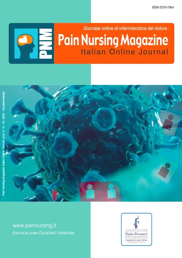 copertina pain nursing magazine 2020-1