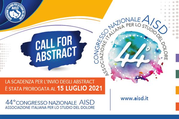 banner call fo abstract 44 congresso AISD